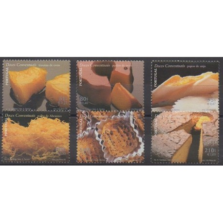 Portugal - 1999 - No 2346/2351 - Gastronomie
