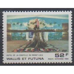 Wallis et Futuna - Poste aérienne - 1984 - No PA141 - Églises
