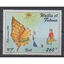 Wallis et Futuna - Poste aérienne - 1984 - No PA142 - Noël