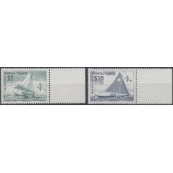Marshall - 2001 - No 1375/1376 - Bateaux