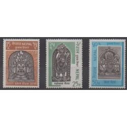 Nepal - 1971 - Nb 236/238 - Art