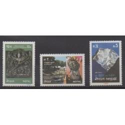 Nepal - 1984 - Nb 417/419 - Tourism
