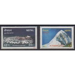 Nepal - 1986 - Nb 443/444 - Tourism