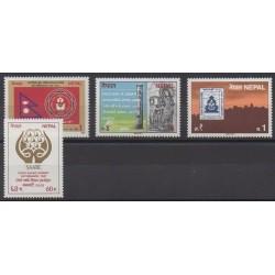 Nepal - 1987 - Nb 448/451