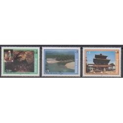 Nepal - 1993 - Nb 520/522 - Sights