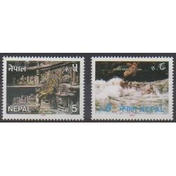 Nepal - 1993 - Nb 518/519 - Tourism