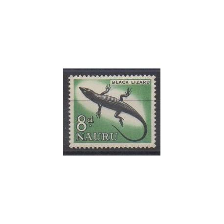 Nauru - 1963 - No 49 - Reptiles