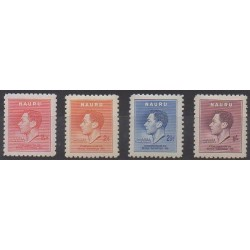 Nauru - 1937 - Nb 33/36 - Mint hinged