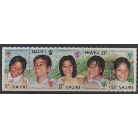 Nauru - 1979 - No 198/202 - Enfance
