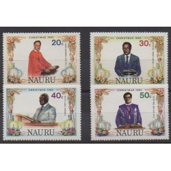 Nauru - 1982 - Nb 258/261 - Christmas