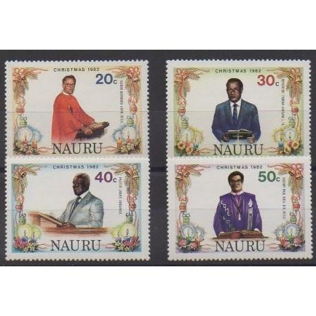 Nauru - 1982 - No 258/261 - Noël