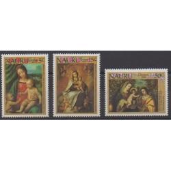 Nauru - 1983 - No 275/277 - Peinture - Noël