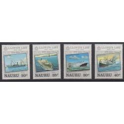 Nauru - 1984 - Nb 278/281 - Boats