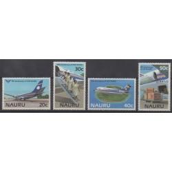 Nauru - 1985 - Nb 301/304 - Planes