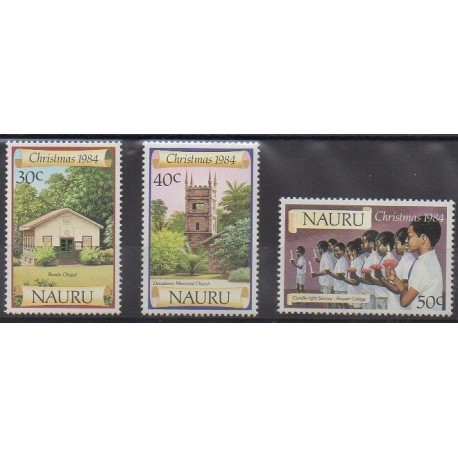 Nauru - 1984 - No 286/288 - Noël