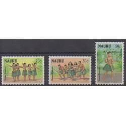 Nauru - 1987 - Nb 329/331 - Folklore