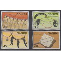 Nauru - 1987 - Nb 332/335 - Craft
