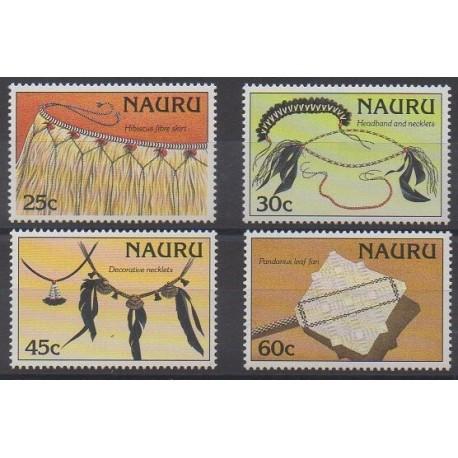 Nauru - 1987 - No 332/335 - Artisanat ou métiers