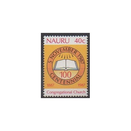 Nauru - 1987 - No 336 - Religion