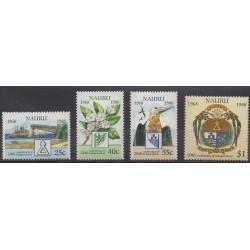 Nauru - 1988 - Nb 339/342 - Various Historics Themes