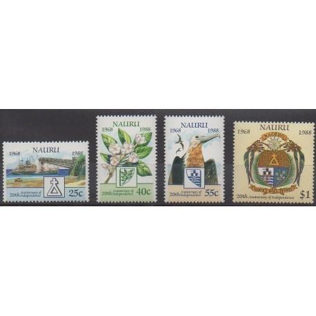 Nauru - 1988 - No 339/342 - Histoire