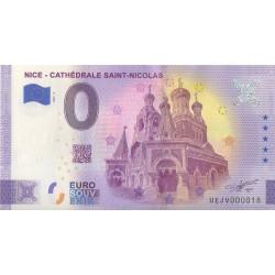 Euro banknote memory - 06 - Nice - Cathédrale Saint-Nicolas - 2021-3 - Nb 18