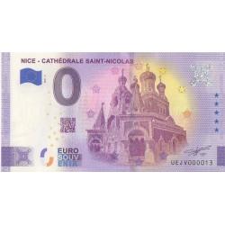 Euro banknote memory - 06 - Nice - Cathédrale Saint-Nicolas - 2021-3 - Nb 13