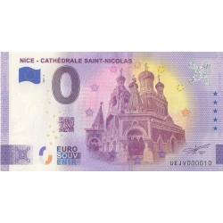 Euro banknote memory - 06 - Nice - Cathédrale Saint-Nicolas - 2021-3 - Nb 10