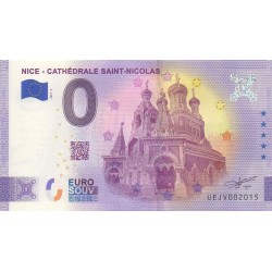 Euro banknote memory - 06 - Nice - Cathédrale Saint-Nicolas - 2021-3 - Anniversary - Nb 2015