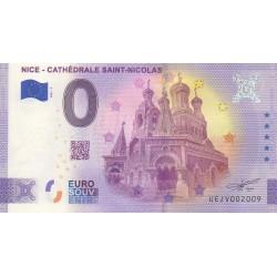 Euro banknote memory - 06 - Nice - Cathédrale Saint-Nicolas - 2021-3 - Anniversary - Nb 2009