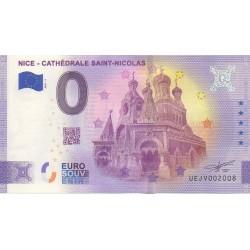 Euro banknote memory - 06 - Nice - Cathédrale Saint-Nicolas - 2021-3 - Anniversary - Nb 2008