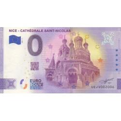 Euro banknote memory - 06 - Nice - Cathédrale Saint-Nicolas - 2021-3 - Anniversary - Nb 2006
