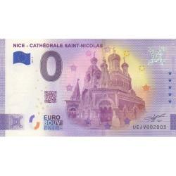Euro banknote memory - 06 - Nice - Cathédrale Saint-Nicolas - 2021-3 - Anniversary - Nb 2003