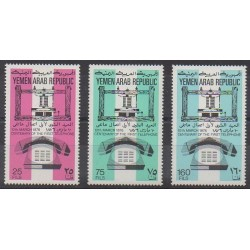 Yémen - République arabe - 1976 - No 285/287 - Télécommunications