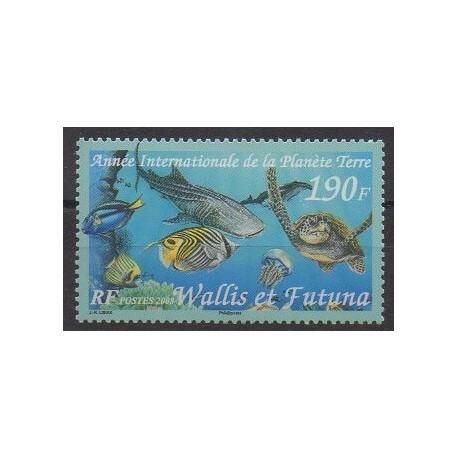 Wallis et Futuna - 2008 - No 694 - Environnement - Vie marine