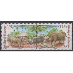 Wallis et Futuna - 2008 - No 709/710 - Mammifères