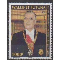 Wallis et Futuna - 2011 - No 753 - Célébrités