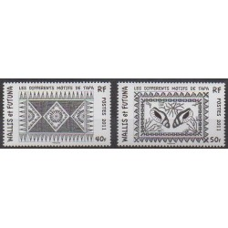 Wallis et Futuna - 2011 - No 755/756 - Artisanat ou métiers