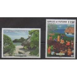 Wallis et Futuna - 2012 - No 761/762 - Peinture