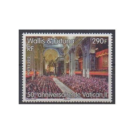 Wallis et Futuna - 2012 - No 774 - Religion