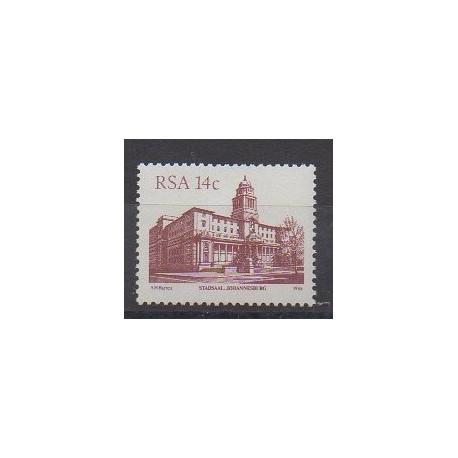 Afrique du Sud - 1986 - No 603 - Châteaux
