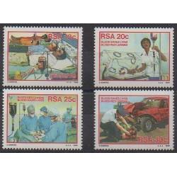 Afrique du Sud - 1986 - No 599/602 - Santé ou Croix-Rouge