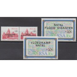 South Africa - 1987 - Nb 634/637