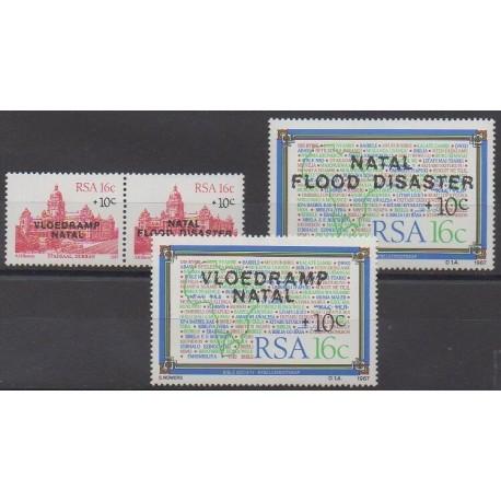 Afrique du Sud - 1987 - No 634/637