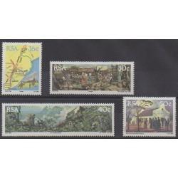 Afrique du Sud - 1988 - No 679/682 - Histoire