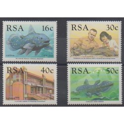 Afrique du Sud - 1989 - No 683/686 - Vie marine