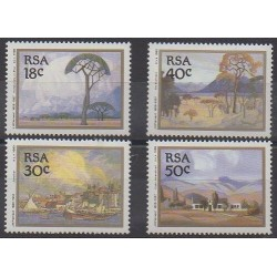 South Africa - 1989 - Nb 696/699 - Paintings