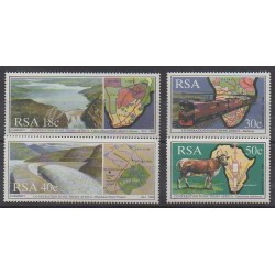 South Africa - 1990 - Nb 706/709