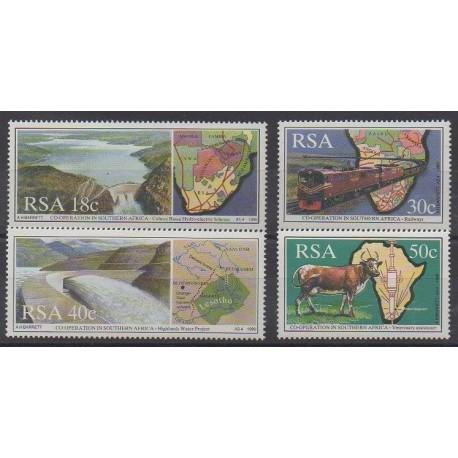 Afrique du Sud - 1990 - No 706/709