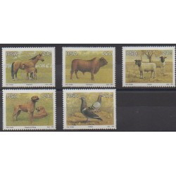 South Africa - 1991 - Nb 730/734 - Animals